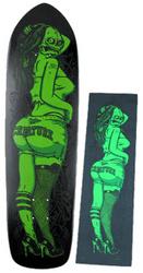 CREATURE_TODD_リミテッドスケートボードデッキ