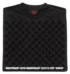 インディペンデント30周年記念ティーシャツクロス