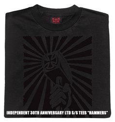 インディペンデント30周年記念ティーシャツハンマー