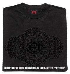 インディペンデント30周年記念ティーシャツパターン