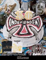 インディペンデント30周年記念Tシャツ